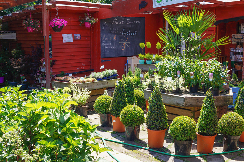 On-site independent florist & garden shop