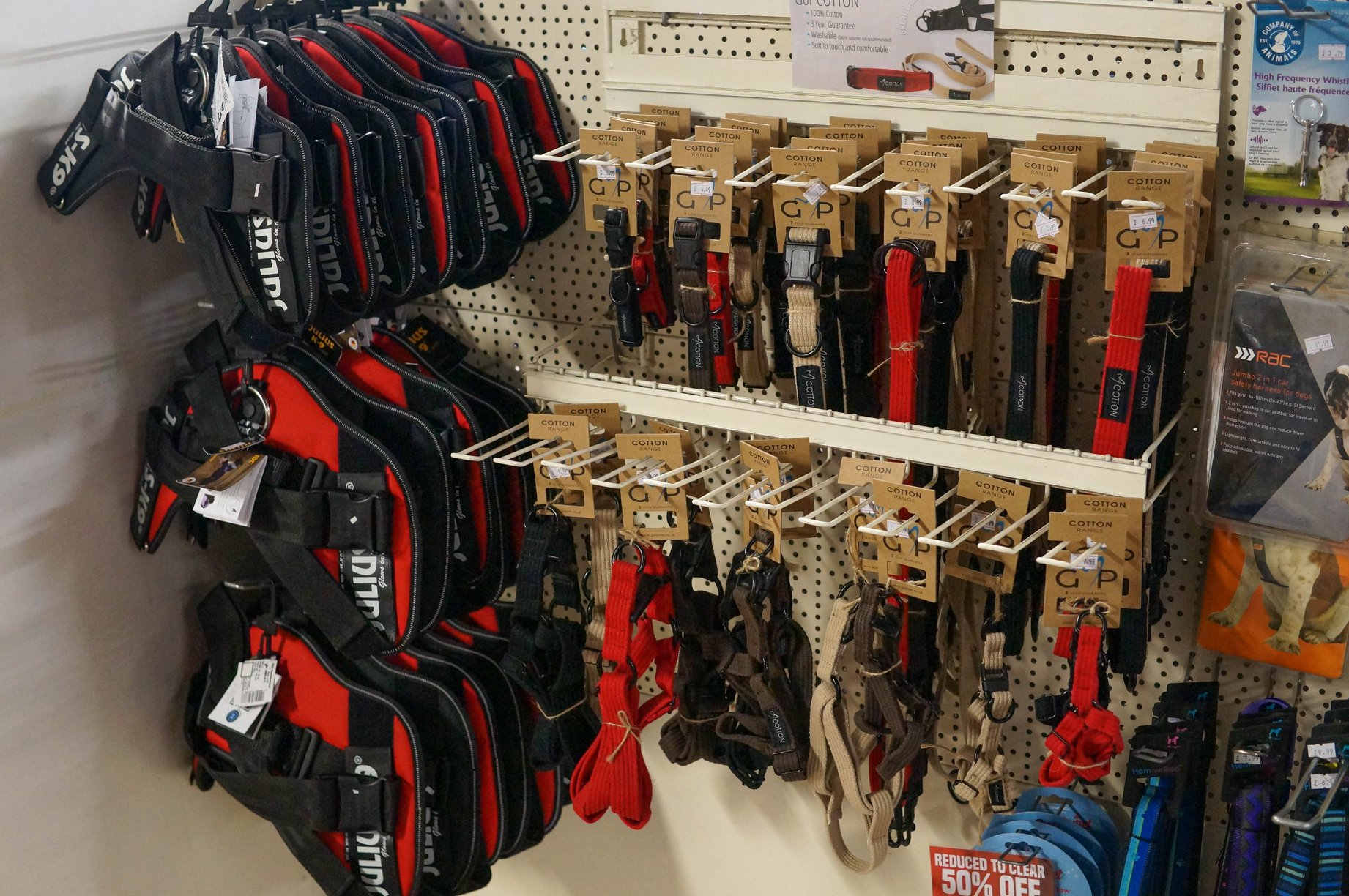 Julius K9 Power Harnesses available in-store