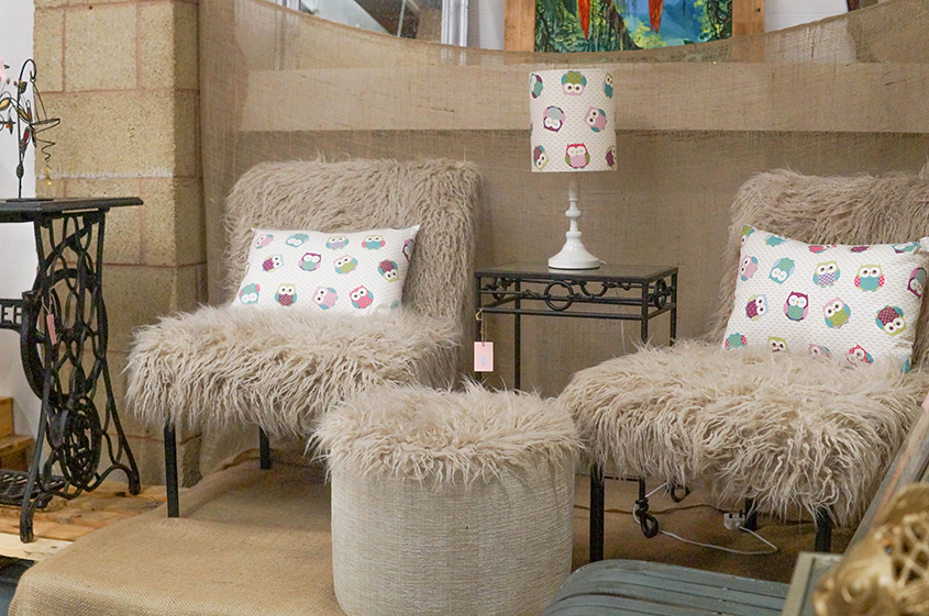 Furniture reupholstery by the Creative Colombian